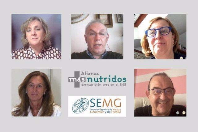La Sociedad Española de Médicos Generales y de Familia se incorpora a la Alianza másnutridos