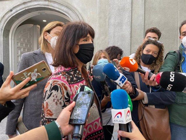 Arxiu - La diputada de Junts al Congrés, Pilar Calvo.