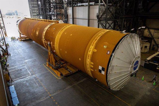Etapa central del cohete SLS
