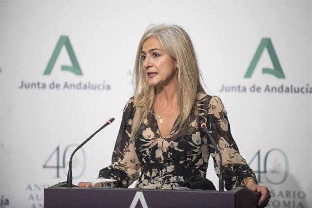 Archivo - La consejera andaluza de Cultura y Patrimonio Histórico, Patricia del Pozo, en una foto de archivo.