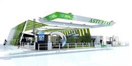Stand de Asturias.