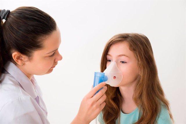 Archivo - Asma infantil