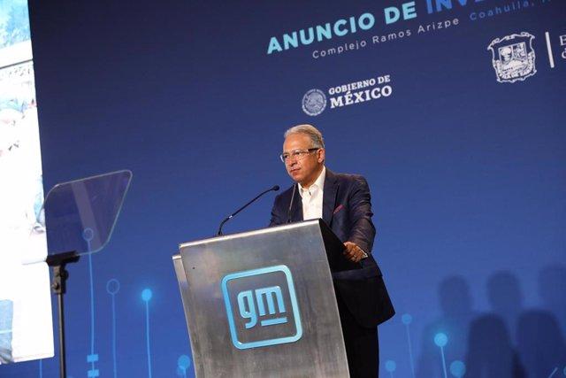 El presidente y director general de General Motors en México, Francisco Garza.