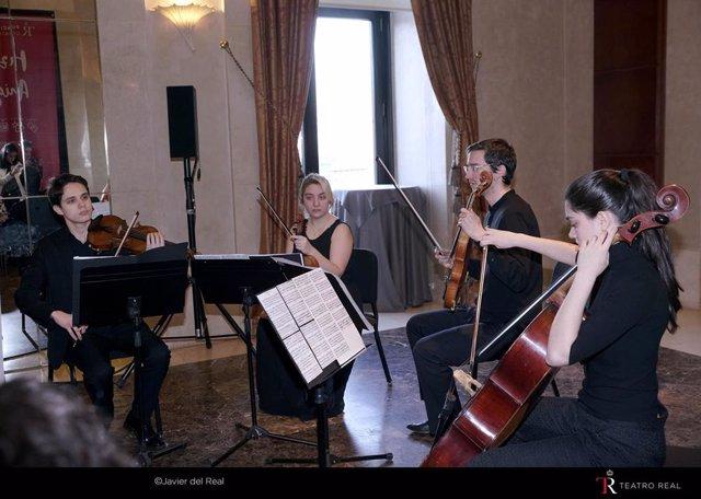 Archivo - El Teatro Real y la Escuela Superior de Música Reina Sofía se unen para que ll los usuarios de la plataforma audiovisual 'My Opera Player' puedan disfrutar de nuevos contenidos musicales y didácticos