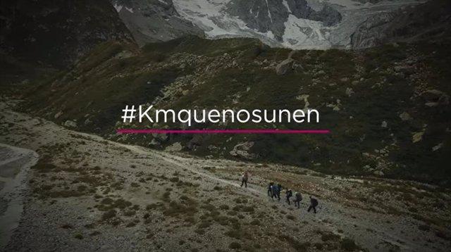 Fotograma del vídeo de la campaña #Kmquenosunen
