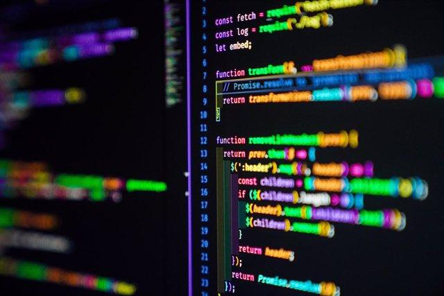 Código de programación en JavaScript