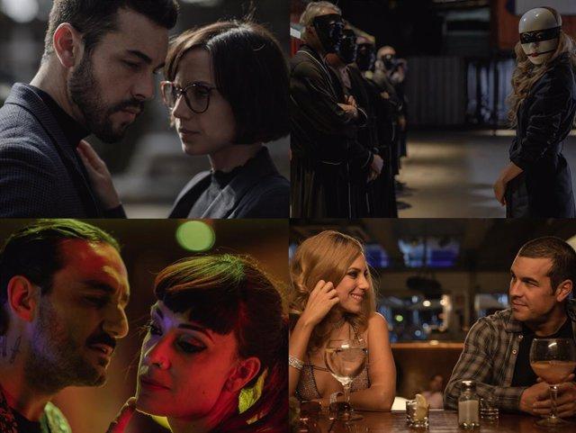 Archivo - Oriol Paulo explica el timeline 'El inocente': Así funciona el tiempo en la serie de Netflix