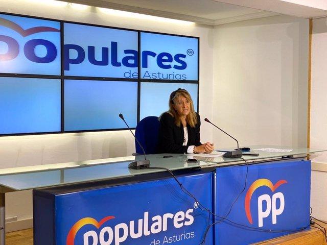 Archivo - La diputada del PP por Asturias en el Congreso, Paloma Gázquez