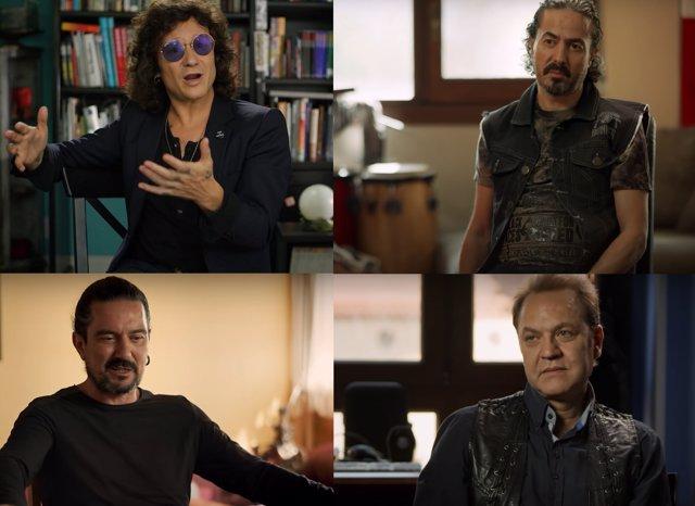"""El documental de Héroes del Silencio en 30 frases lapidarias: """"Ojalá hubiéramos seguido y tuviéramos quince discos"""""""