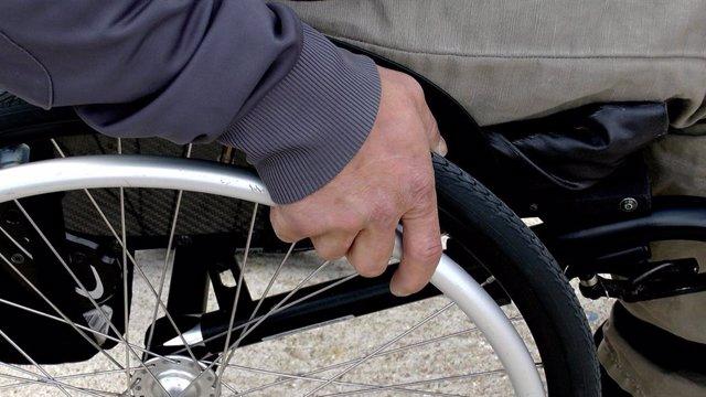 Archivo - Persona con discapacidad