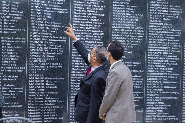 Memorial en Kigali en recuerdo de las víctimas del genocidio de Ruanda