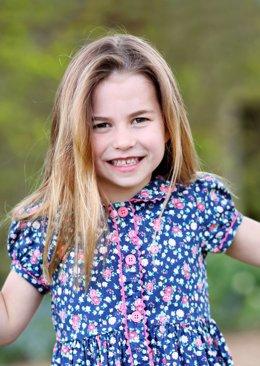 La princesa Carlota cumple seis años.