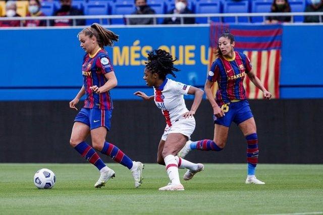 El Barça femení derrota el PSG i arriba a la final de la Lliga de Campiones