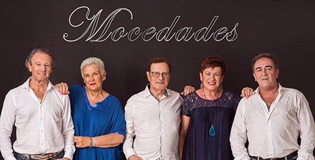 Archivo - El grupo musical 'Mocedades'