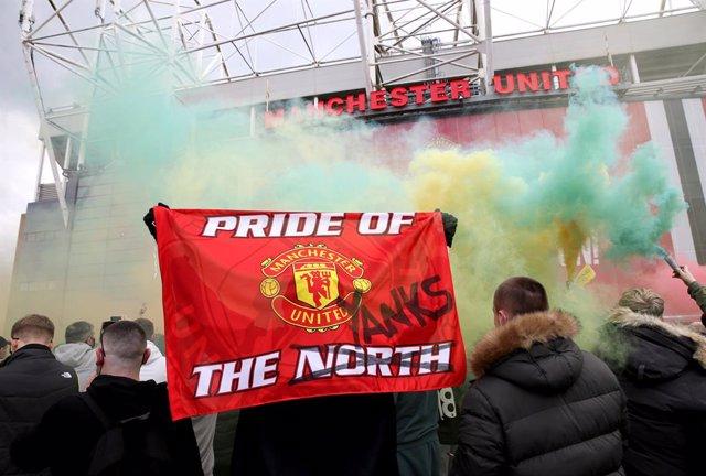 Invasión de Old Trafford, United - Liverpool
