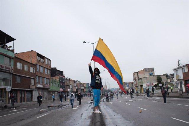 Protestas en Colombia contra la reforma tributaria