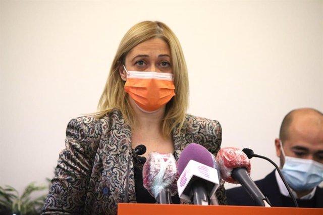Archivo - La portavoz del Grupo Parlamentario Ciudadanos, Carmen Picazo,