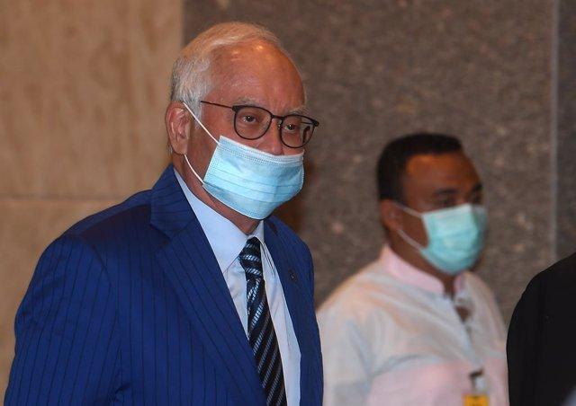 El ex primer ministro de Malasia, Najib Razak.