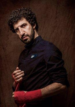 Imagen promocional del disco 'El viejo boxeador' de Marwán