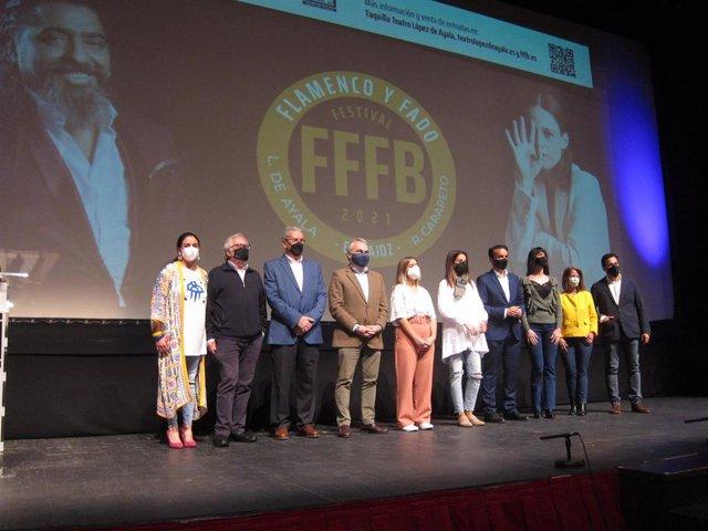 Presentación del Festival de Flamenco y Fado de Badajoz