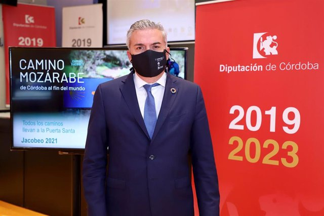 Archivo - El delegado de Programas Europeos y Administración Electrónica de la Diputación de Córdoba, Víctor Montoro.