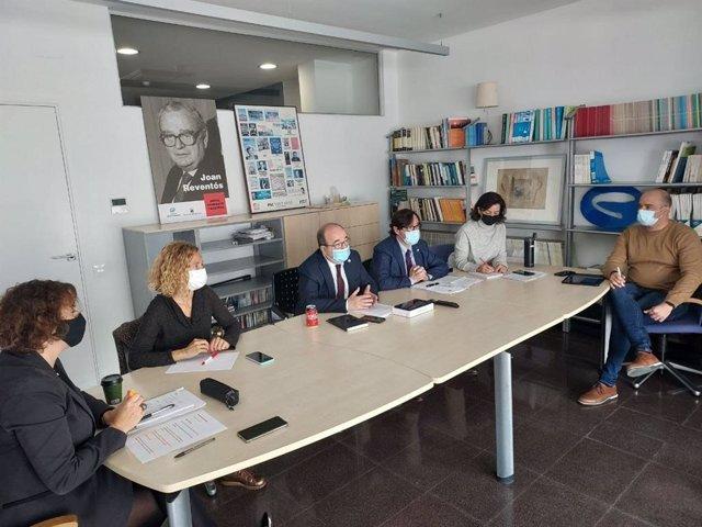 Comisión ejecutiva del PSC del 3 de mayo.