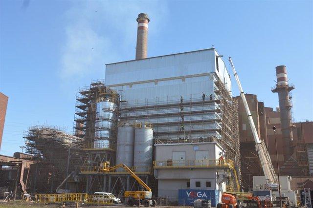 Archivo - Factoria de ArcelorMittal en Gijón.
