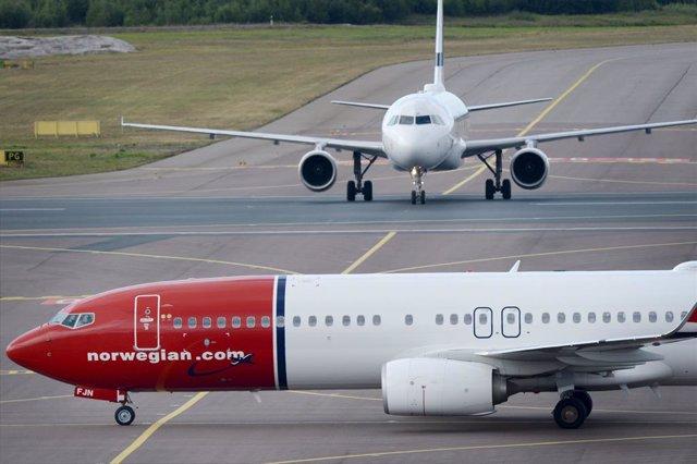 Archivo - Arxiu - Avió de Norwegian.