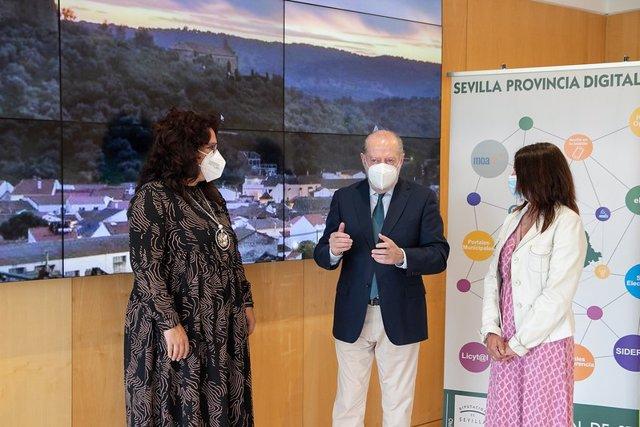 Reunión en la Diputación de Sevilla