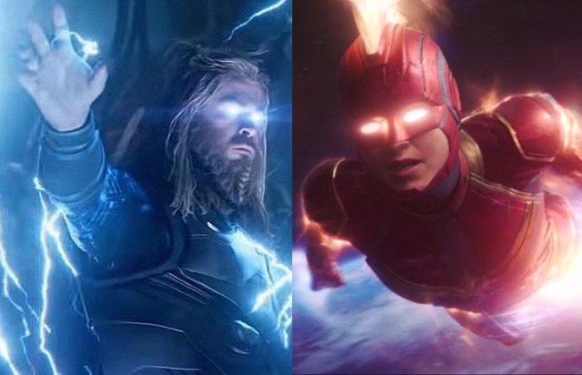 Thor 4: ¿Filtrado el cameo de Capitana Marvel en Love and Thunder?