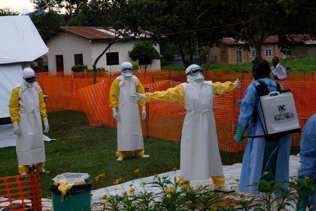 Archivo - Operación contra el ébola en República Democrática del Congo (RDC)