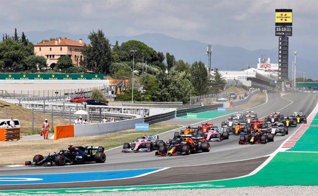 Archivo - Gran Premio de España 2020 de Formula 1 en el Circuit de Barcelona-Catalunya