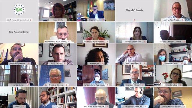 Reunión de comisiones de la FAMP para analizar el nuevo anteproyecto de Ley de Policías Locales de Andalucía