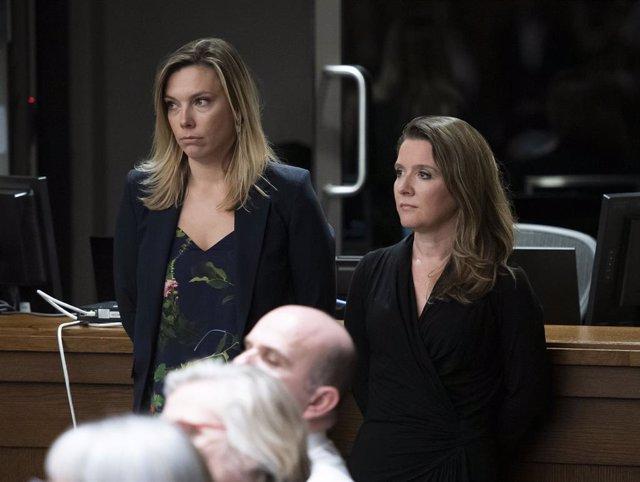Katie Telford, a la derecha, en una imagen de archivo.