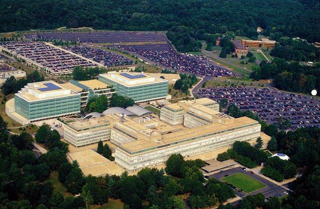 Cuartel general de la CIA en Langley, Virginia.