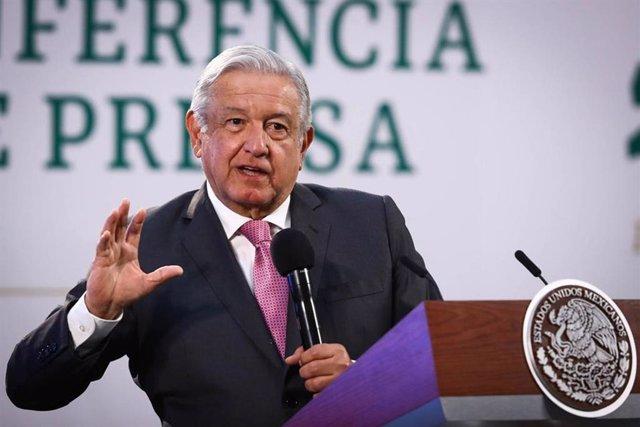 Archivo - El presidente mexicano, Andrés Manuel López Obrador