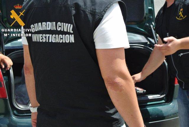 Archivo - Imagen de recurso de Guardia Civil.