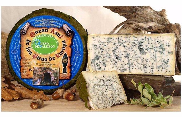 Imagen de archivo del queso de Valdeón