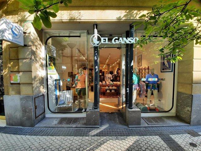 Tienda de El Ganso en San Sebastián