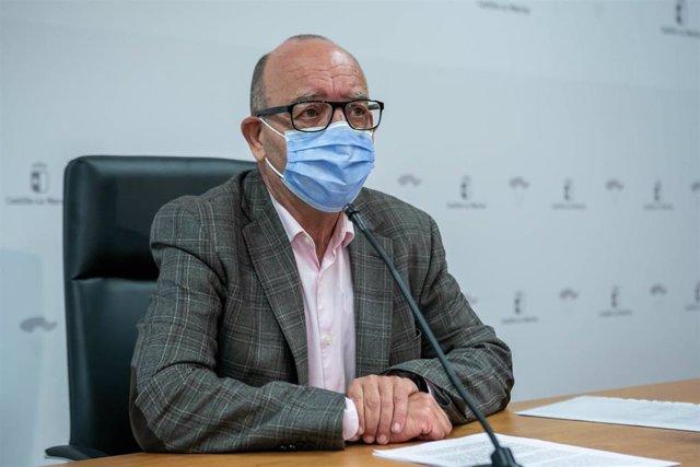 El director general de Recursos Humanos de la Consejería de Educación, Cultura y Deportes, José Manuel Almeida.