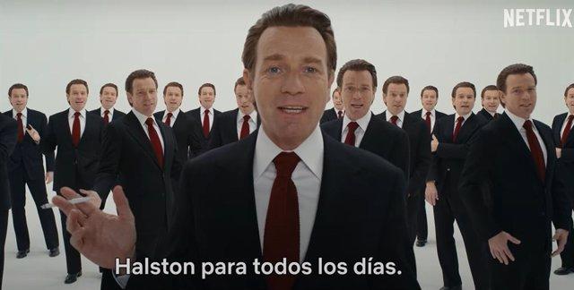 Ewan McGregor, desatado icono de la moda en el tráiler de Halston que se estrenará en Netflix el 14 de mayo