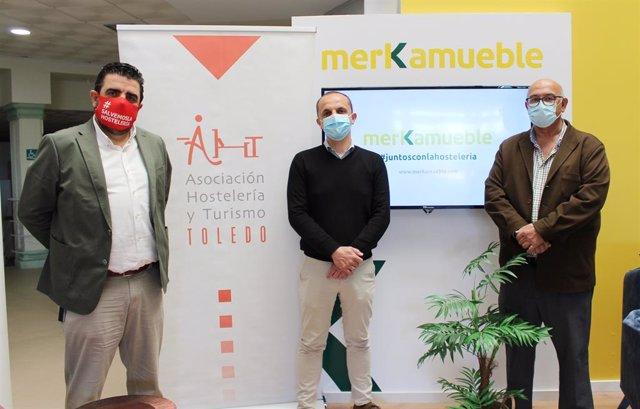 Hostelería de Toledo y Merkamueble se unen en una campaña para la reactivación del consumo en establecimientos.