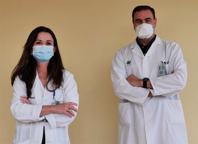 Pediatras del Hospital de Valme