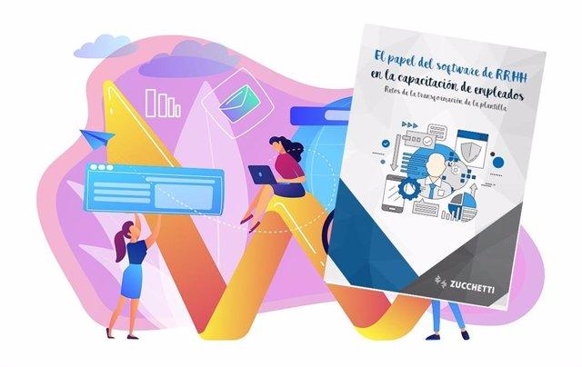 Guía 'El papel del software de RRHH en la capacitación de empleados'