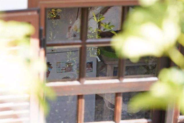 Casa donde vivían Tomás Gimeno y sus hijas en Santa Cruz de Tenerife