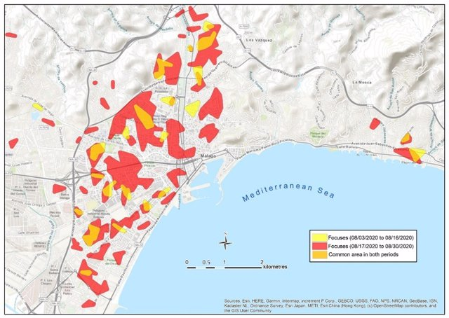 Un estudio de la UMA demuestra que las aglomeraciones vecinales son una vía de contagio de COVID