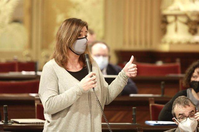 Archivo - La presidenta del Govern, Francina Armengol.