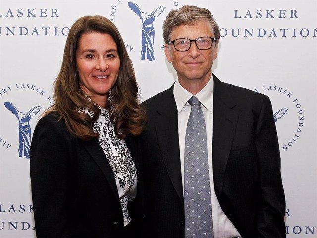Archivo - Melinda Gates Y Bill Gates, En Una Imagen Tomada En 2020