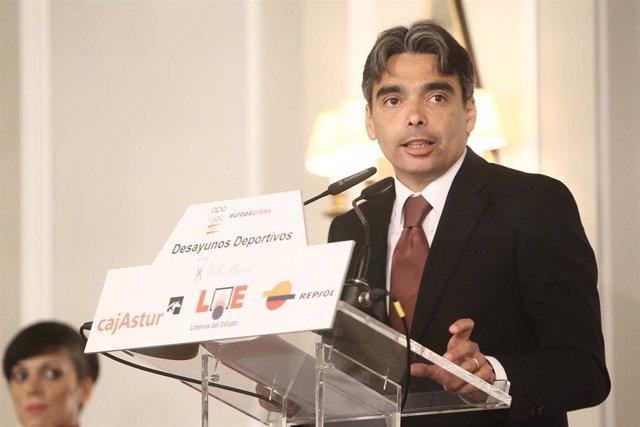 Archivo - Albert Soler regresa al CSD como Director General de Deportes.
