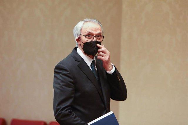 El presidente del Consejo Económico y Social (CES), Antón Costas Comesaña